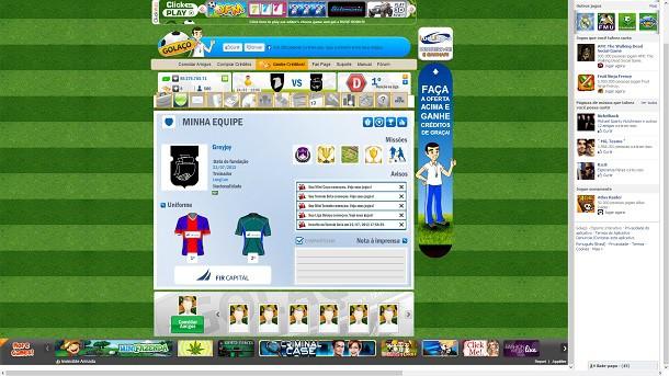 Golaço F.C como jogar