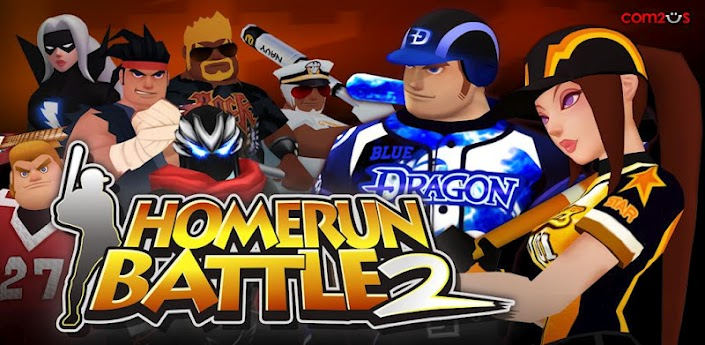 aplicativo Homerun Battle 2 para android e ios
