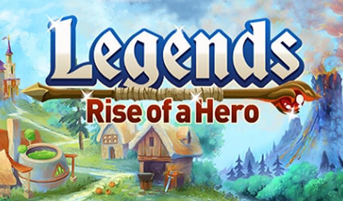 aplicativo legends rise of a hero