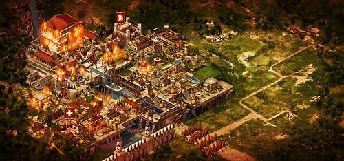 como jogar game of war fire age