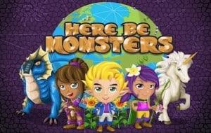 como jogar o aplicativo here be monsters para facebook
