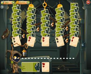 como jogar solitaire castle