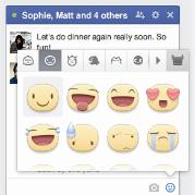 Facebook traz ao bate-papo novas animações