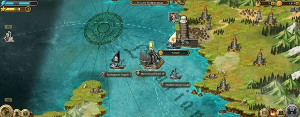 Invincible Armada como jogar