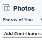 Como criar um álbum de compartilhamento no Facebook