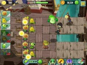 como jogar plants vs zombies 2