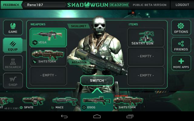 shadowgun jogos de tiro grátis