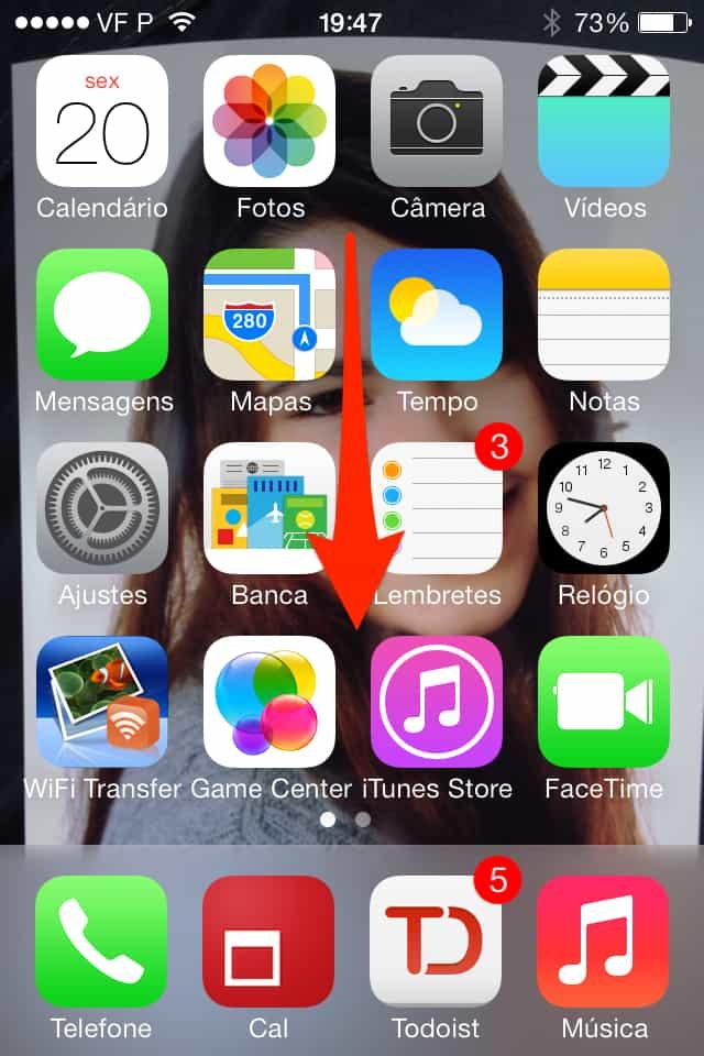 iOS 7 spotlight