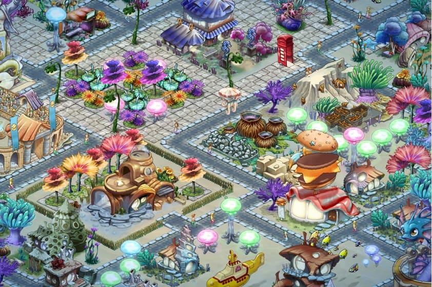 Atlantis Fantasy para Facebook
