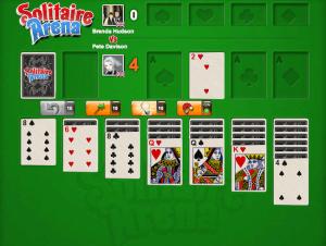 como jogar solitaire arena