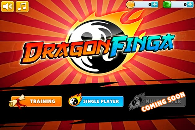 dragon finga