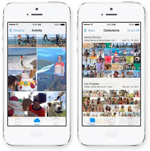 iOS 7 vs. iOS 6 mudanças