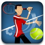 logotipo de stick tennis