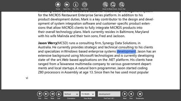 PDF Reader para Windows 8