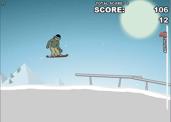 Downhill Snowboard 2 como jogar
