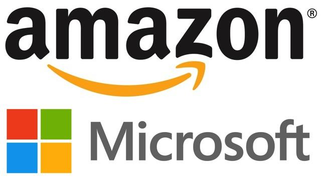 Amazon e microsoft