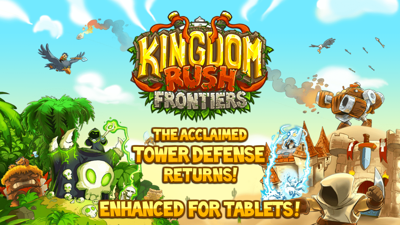 Kingdom Rush Frontiers para Android