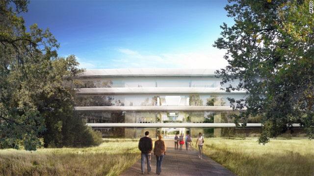apple campus imagem