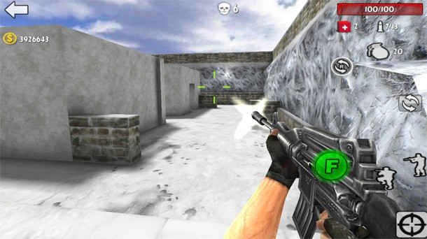 Gun Strike:Shooting War 3D para Android