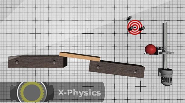 X-Physics jogo de física para Android.