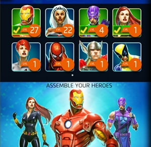 Marvel Puzzle Quest Dark Reign para Android