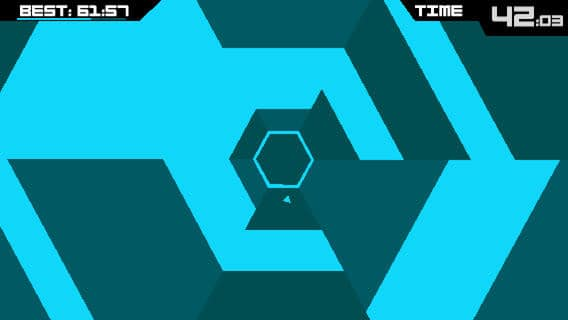 Super Hexagon para Android
