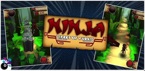 Ninja Feet of Fury para Android