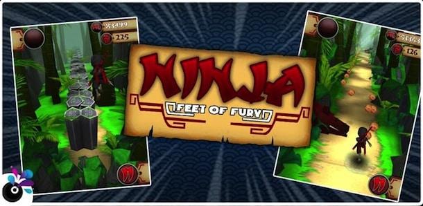 Ninja Feet of Fury para Android
