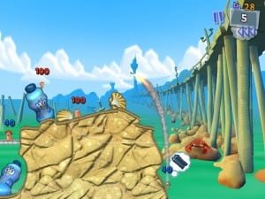 Worms 3 para iPhone