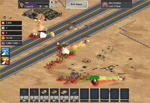 Thunder Run: War of Clans como jogar