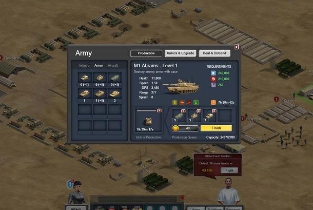 Thunder Run: War of Clans Facebook