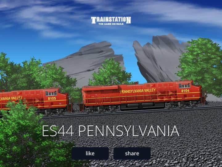 Trainstation para Facebook