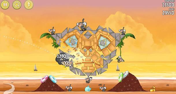 Angry Birds Rio como jogar