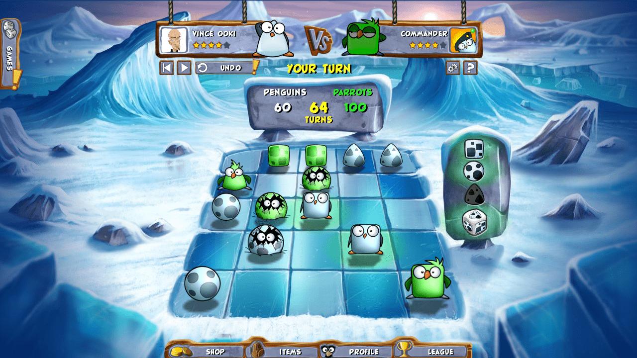 Penguins vs Parrots como jogar