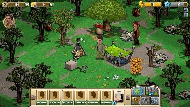 The Hunger Games Adventure como jogar