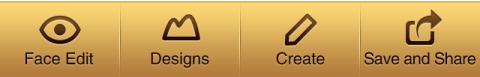 barra de ferramentas para iOS