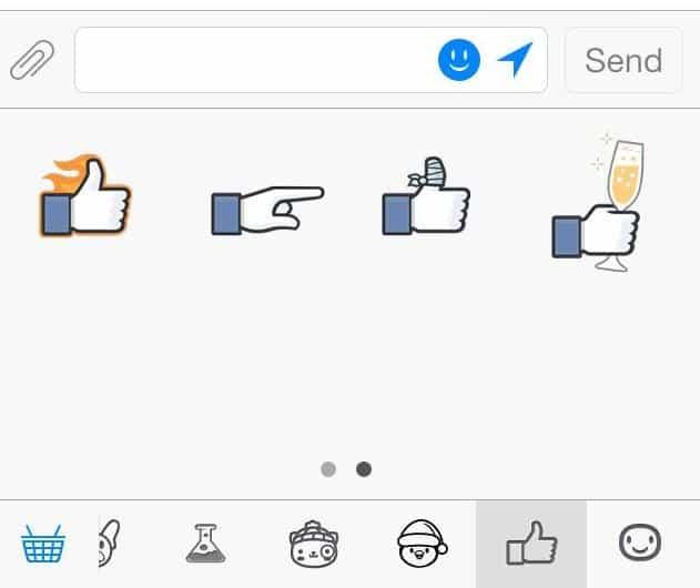emoticons do botão não curti 2