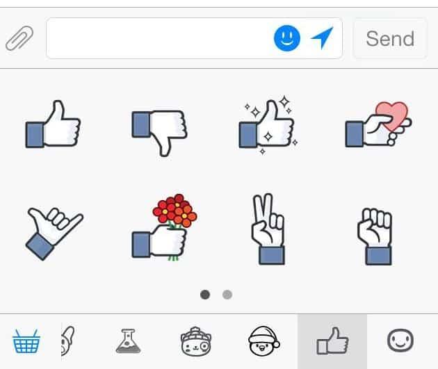 emoticons do botão não curti