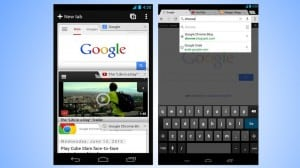 Chrome no Android