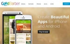 criar aplicativos móveis GoodBarber
