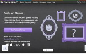 criar aplicativos móveis GameSalad