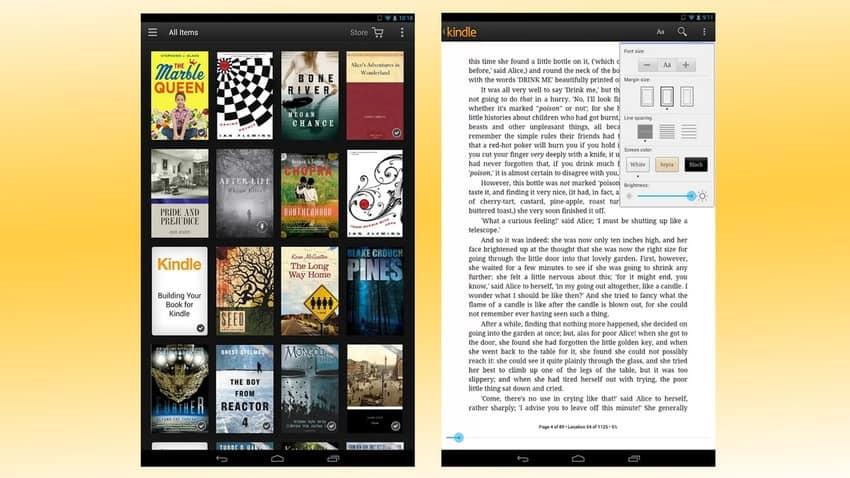 8- Amazon Kindle