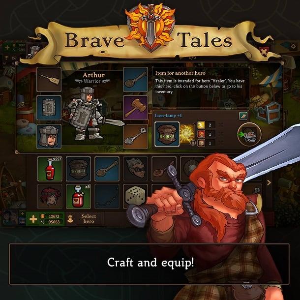 Brave Tales como jogar
