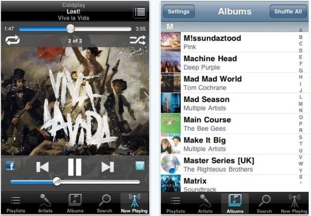 audiogalaxy mobile para iPhone