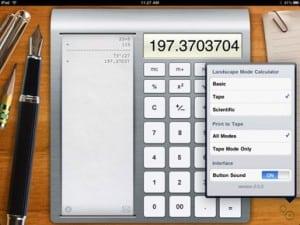 calculator para ipad