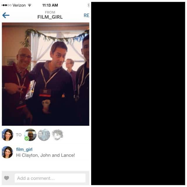Instagram vs Snapchat comentar uma imagem ou video