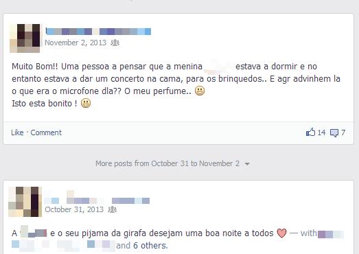 amigos fazem no Facebook Pais Assíduos