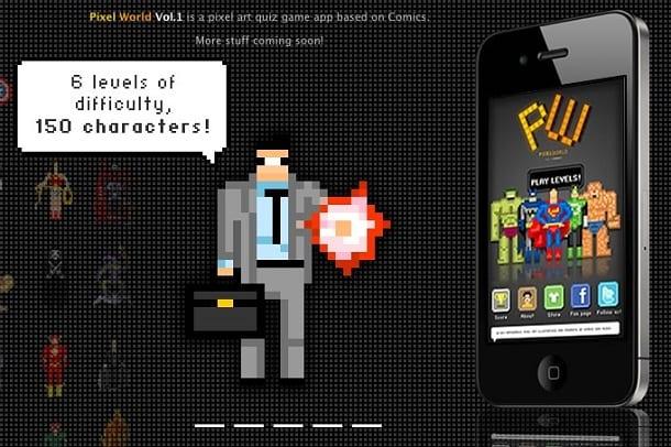 PixelWorld para iPhone