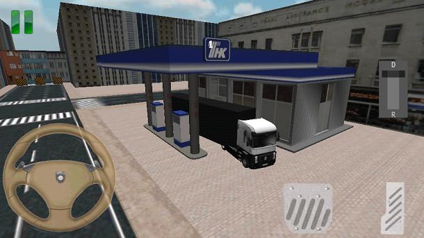Truck Simulator 3D como jogar