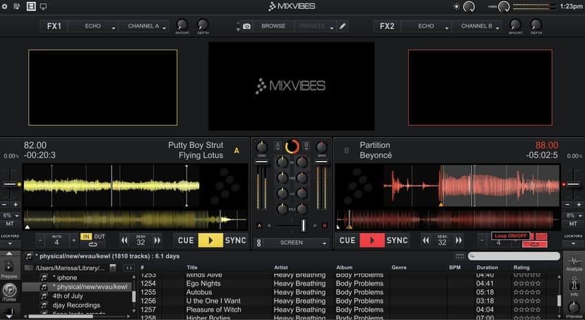 crossdj aplicativo para DJ